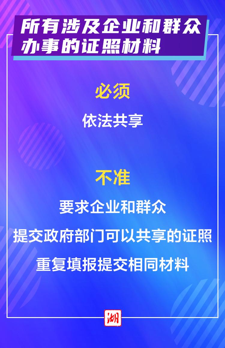 """海報丨服務企業群眾, """"十必須十不準""""請記牢! 宜昌新聞 第2張"""