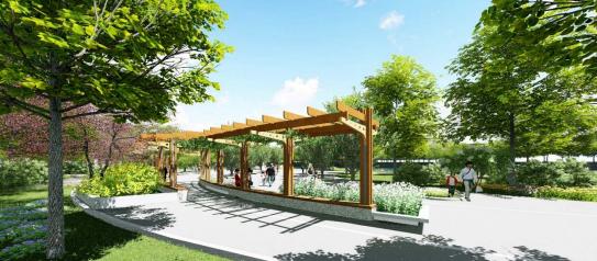 预计8月对外开放!襄阳这里新建一座公园!
