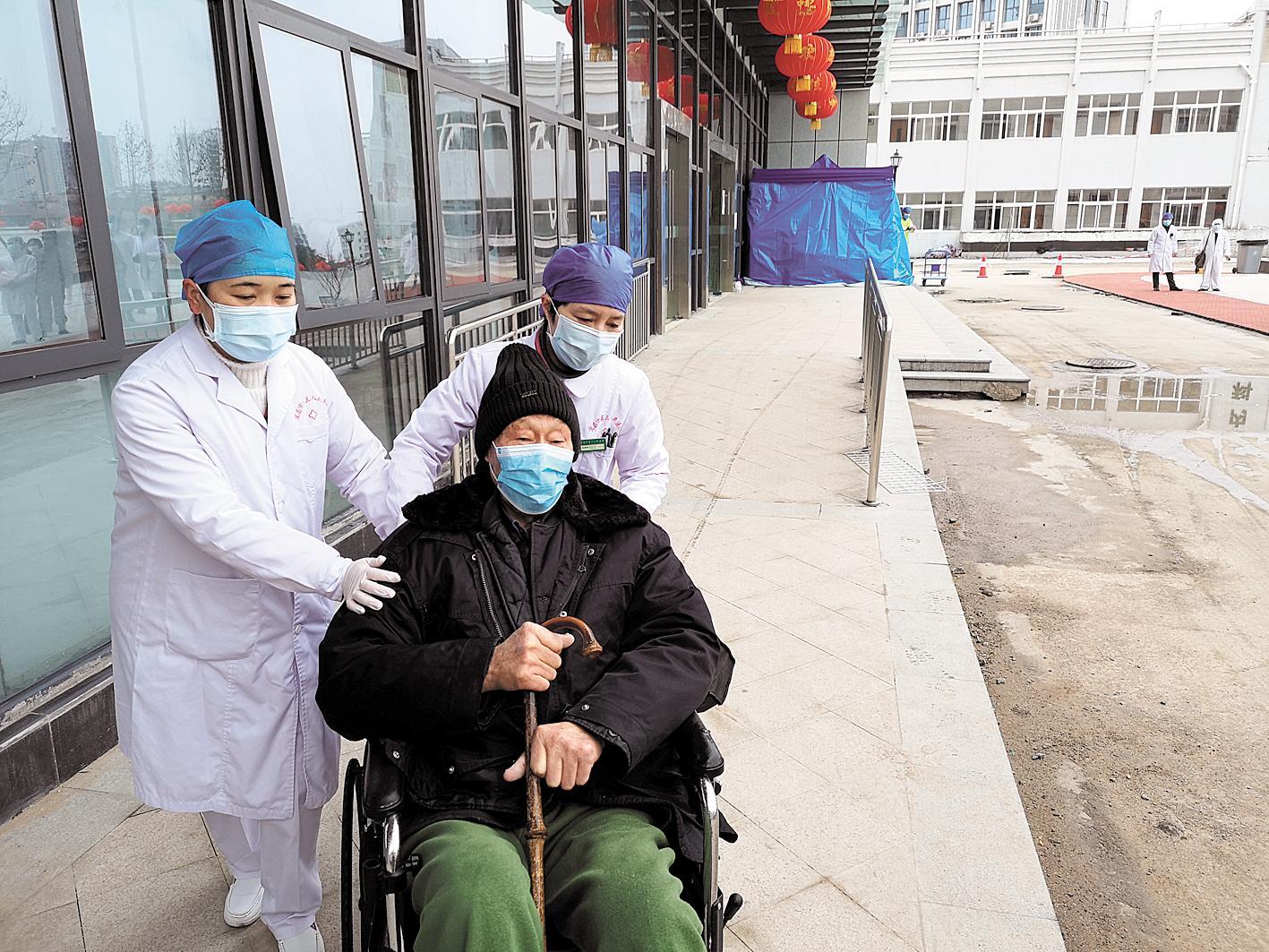 九旬老兵打赢了一场特别的战斗,湖北年龄最长的新冠肺炎患者出院