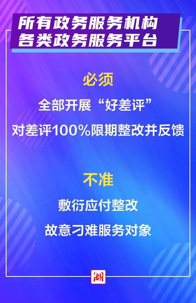 """海報丨服務企業群眾, """"十必須十不準""""請記牢! 宜昌新聞 第3張"""