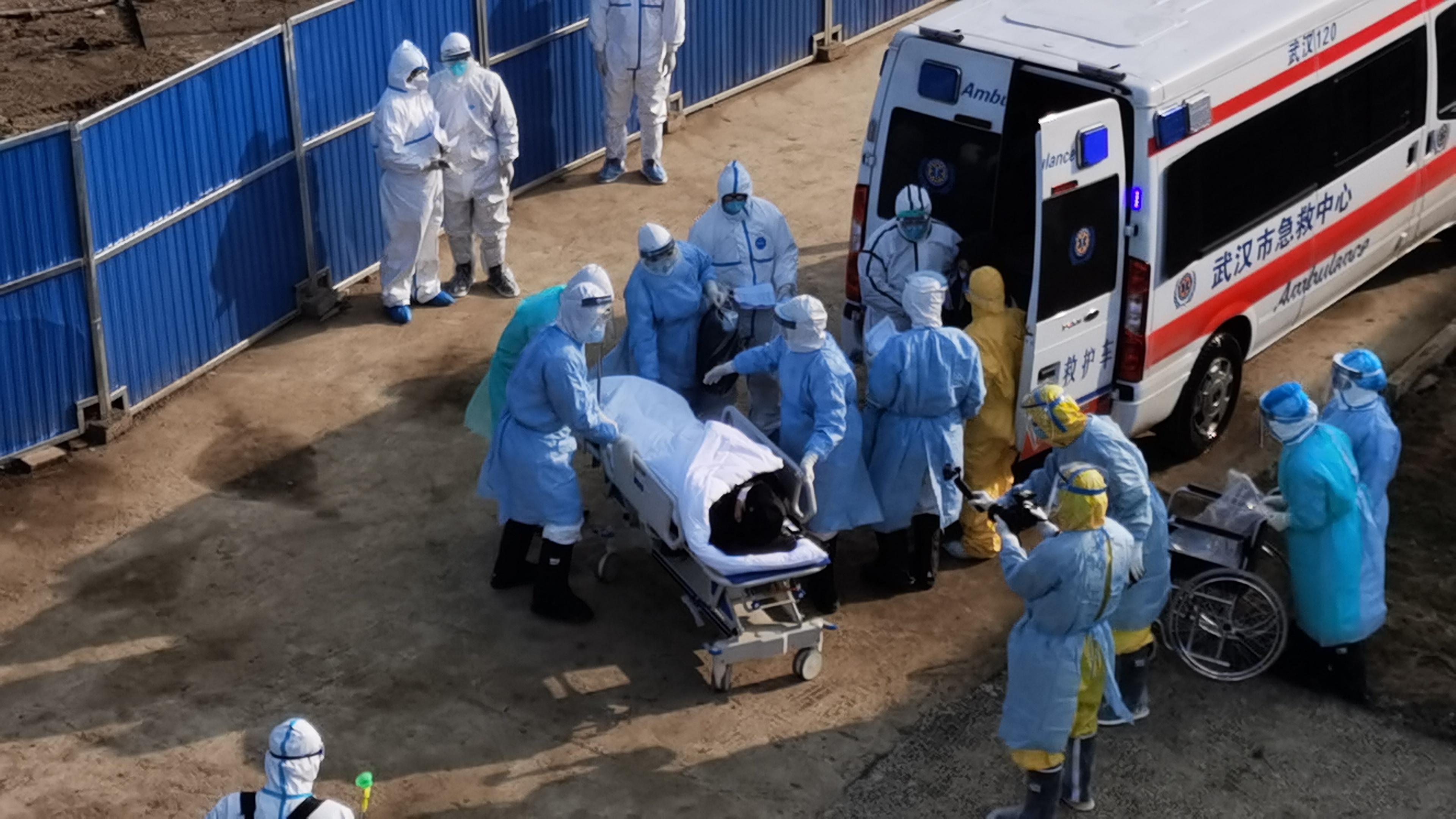 刚刚,火神山医院接诊首批病人